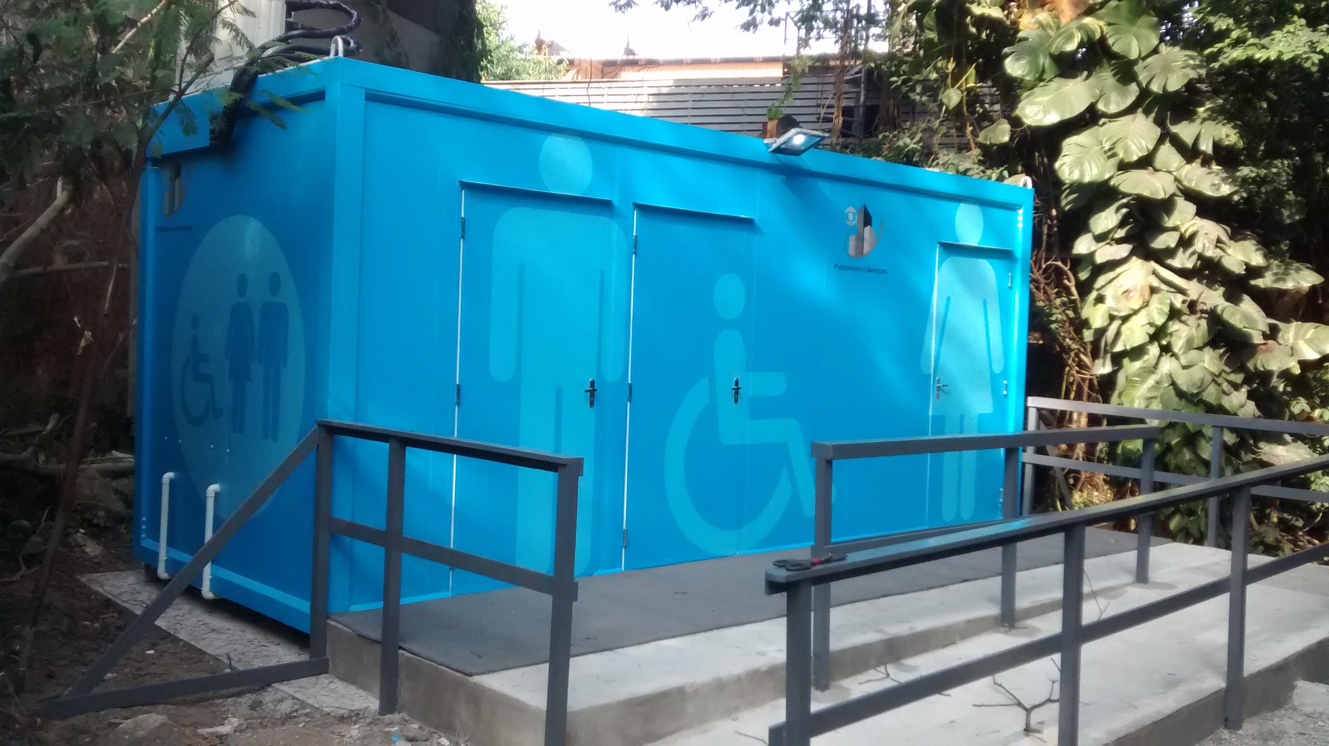Net Container soluciona acesso ao WC nos Cenários da TV Globo