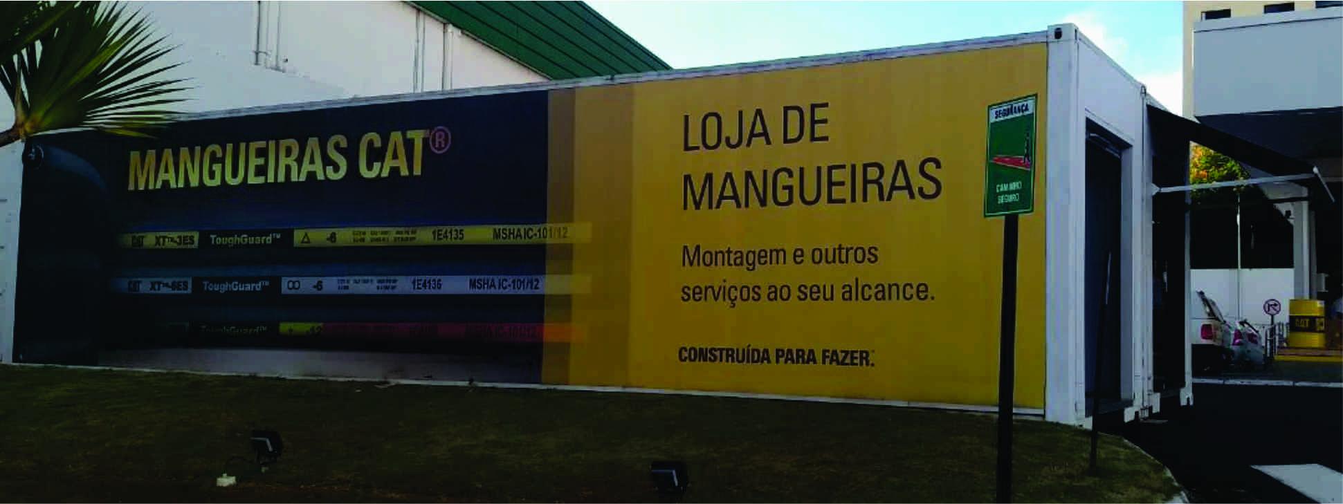 Net Container desenvolve 1ª loja de mangueiras para a Sotreq
