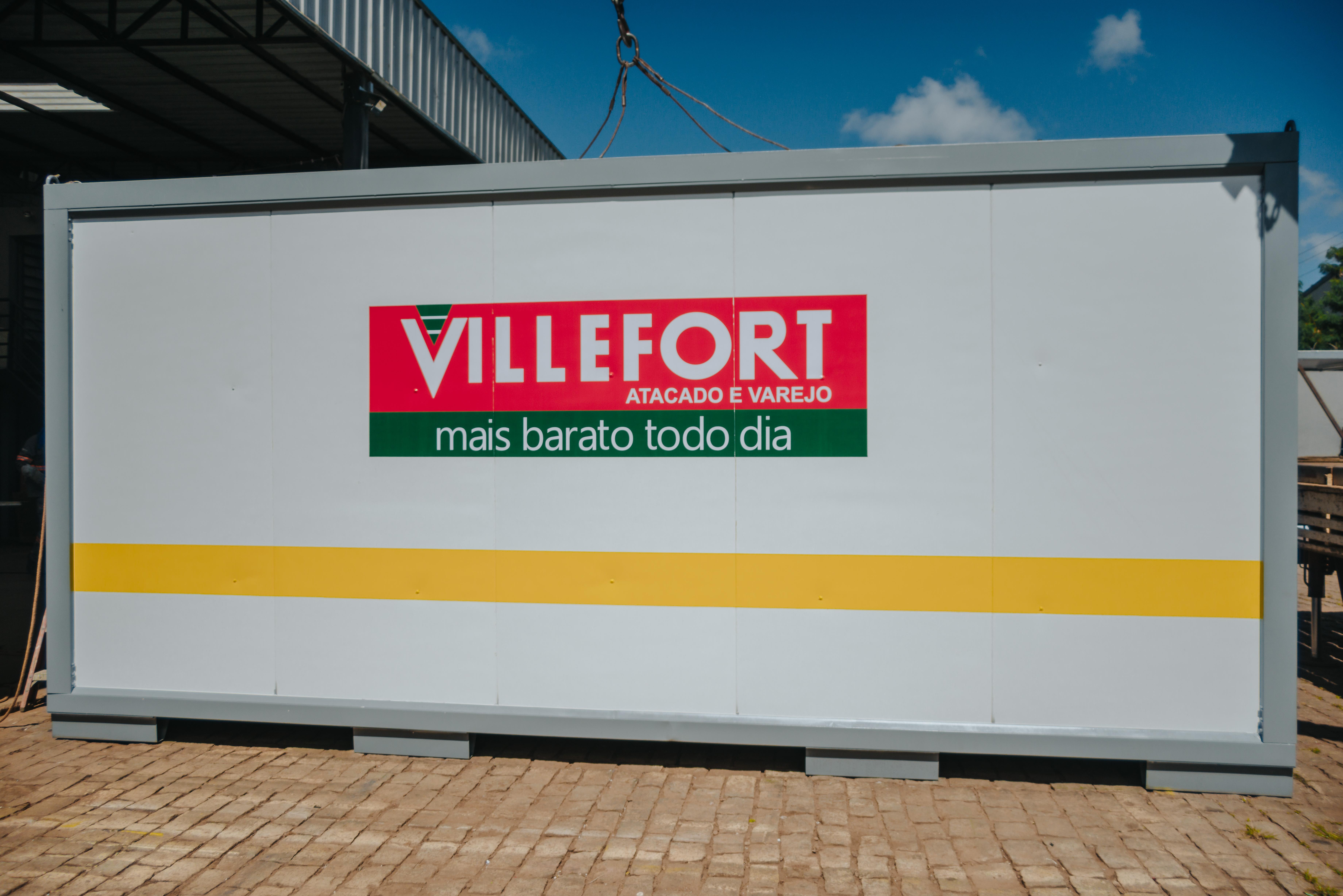 Net Container entrega mais um projeto para a Villefort